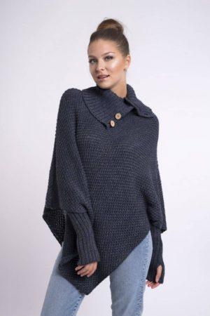 poncho sweater,