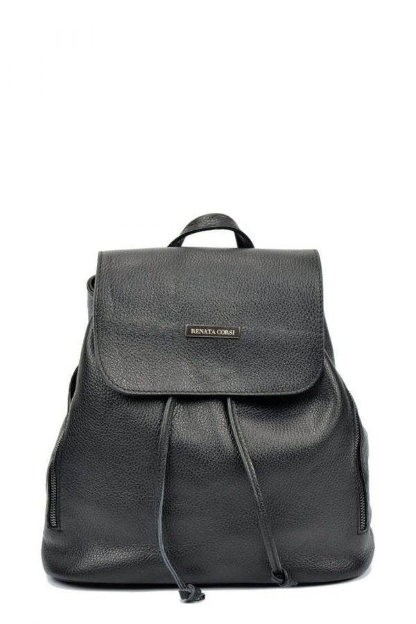leather backpack,