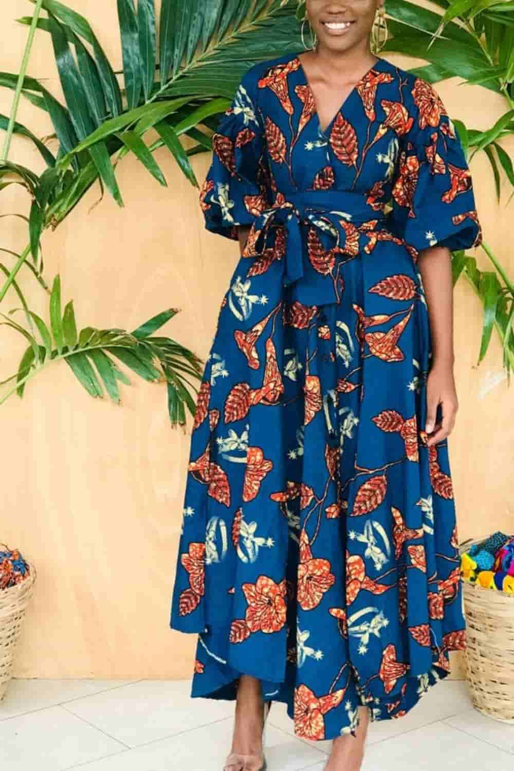 wrap dresses,flared dresses with sleeves,
